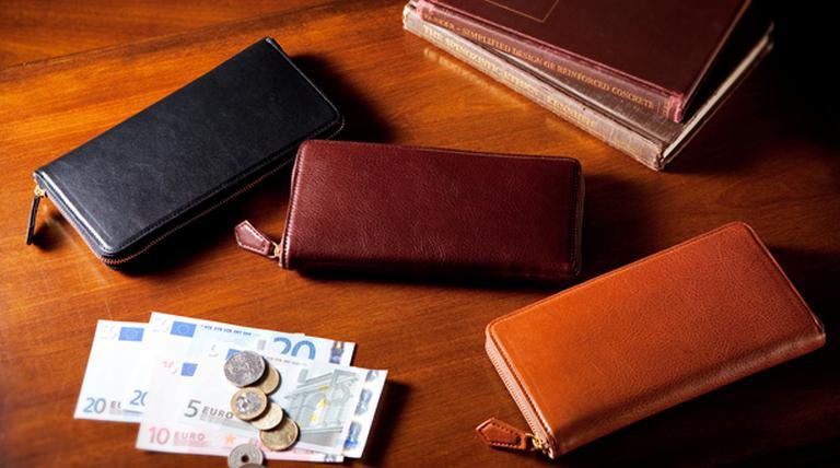 革財布の手入れ