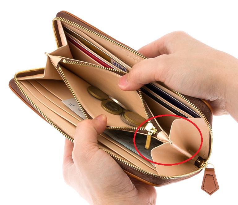財布のマチ