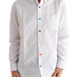 無駄なデザイン!カラフルボタンのシャツはダサいから着るな!