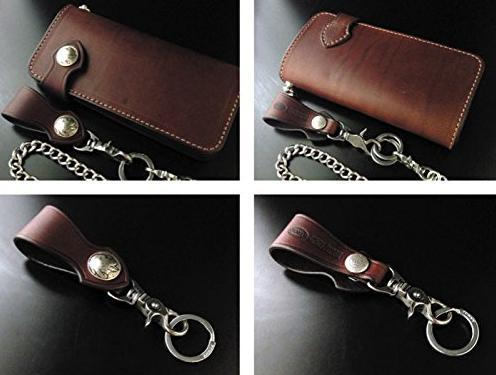ライダースファッションにお勧めのウォレットチェーンが付けられる財布